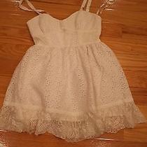 Bebe White Dress Small Photo