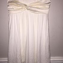 Bebe White Mini Dress Photo