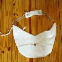 Bebe White Purse Rare Photo