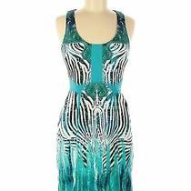 Bebe Women Blue Casual Dress M Photo