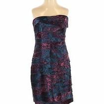 Bebe Women Blue Cocktail Dress S Photo