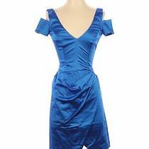 Bebe Women Blue Cocktail Dress Xs Photo