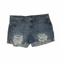 Bebe Women Blue Denim Shorts 30w Photo