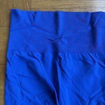 Bebe Womens Saphire Blue Leggings Sz S Photo