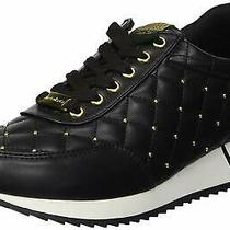 Bebe Womens Barkley Low Top Lace Up Fashion Sneakers Black Size 6.0 Svmb Photo