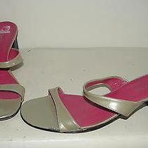 Bebe Womens Beige Sandals Slides Shoes 9 M Photo