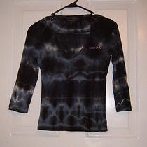 Bebe Womens Blouse Medium Photo