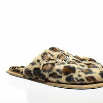 Bebe Womens Charee Leopard Slippers Size 10 (787936) Photo