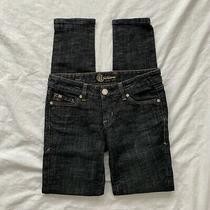 Bebe Womens Hi Waist Skinny Jeans Black Size 26 Photo