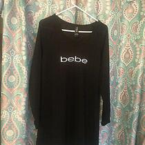 Bebe Womens Long Sleeve Pj Dorm Sleepwear Dress Size Large Photo