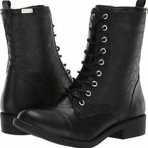 Bebe Womens Olsen Leather Closed Toe Mid-Calf Fashion Boots Black Size 8.5 Qkw Photo