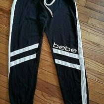 Bebe Womens Skinny Jogger Pants Lounge Sleepwear  Bottoms Medium Photo