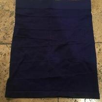 Bebe Womens Solid Navy Blue Purple High Waist Mini Skirt Xxs Xs Small Photo