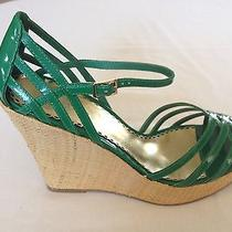 Bebe Xandra Green Wedge Photo