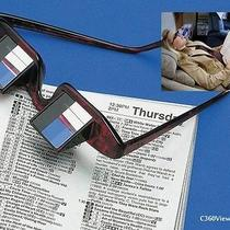 Bed Prism Spectacles Lenses Eyewear Eye Glasses Eyeglasses See Tv-Reading in Bed Photo