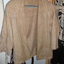 Beige Blazer by Bagatelle Sz. L Photo