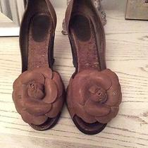Beige Chanel Shoes Photo