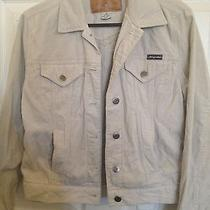 Beige Corduroy Jacket Size S Photo
