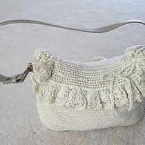 Beige Crochet Handbag Photo