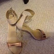 Beige Express Heels in Size 8 Photo