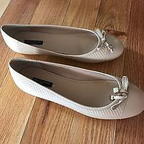 Beige Flats Size 7 or Petite 75 Photo