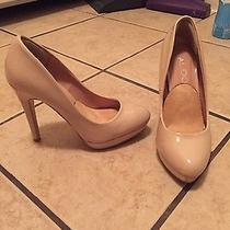 Beige Heels Size 5 Photo
