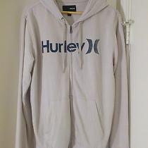 Beige Hurley Zipper Hoodie  Photo