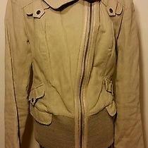 Beige Mackage Khaki Beige Jacket Coat  Photo