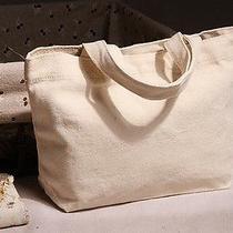 Beige Tote Handbag Pure Background Naked Bag Photo