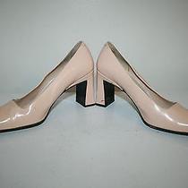 Beige via Spiga Thick High Heel Shoesize 6.5m Photo