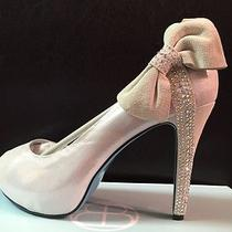 Bella Belle Size 6 1/2 Tiffany Blue Wedding Shoes Something Blue Sole Photo