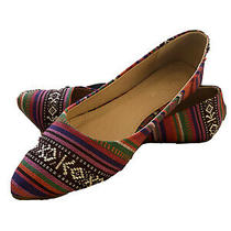 Bella Marie Shoes Womens Size 7.5 Multicolor Ballet Flats Chaser 13 Photo