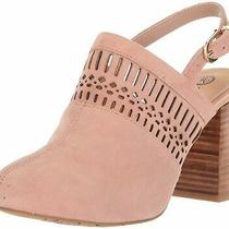 Bella Vita Womens Nox Suede Almond Toe Mules Blush Suede Size 6.0 Photo