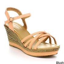 Bellamarie Nxt-10 Lady Women Platform Ankle Strappy Espadrille Wedge Sandal Photo