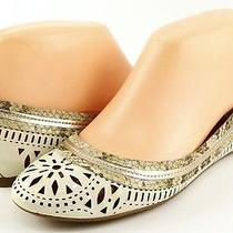 Belle Sigerson Morrison Andromeda Cream Natural Womens Designer Shoes Flats 7.5 Photo
