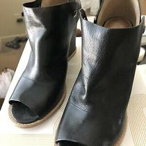 Belle Sigerson Morrison-Beautifulall Leather-Bootieex Cond Blk Sz 8 Photo
