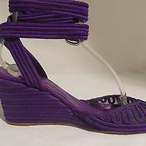 Belle Sigerson Morrison Purple  Sandals Photo