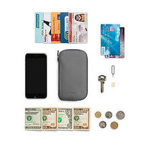 Bellroy Elements Slate Gray Grey Iphone 6 Phone Pocket Leather Wallet Case Photo