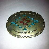 Belt Buckle  Native American Photo
