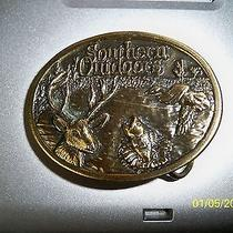 Belt Buckle Southern Outdoors Limited Edition Made in the Usa Photo