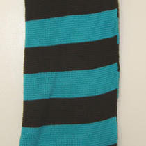 Ben Berger Women's Scarf - Pink or Aqua Stripe Photo
