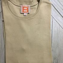Bensimon Long Sleeved T-Shirt Top Size Medium Crew Neck Cotton Stretch Photo