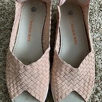 Bernie Mev New York Slip-on Sandals Blush Pink Size 38 Euc Photo
