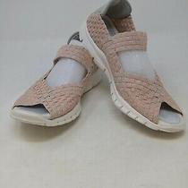 Bernie Mev Women's Comfi New Blush Shimmer Shoes Size 38 Eu  Photo
