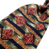Bert Pulitzer Alternative  Multi Color Art Deco  Silk Tie   3-10 Photo
