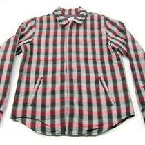 Bespoken New York X Gap Men Plaid Shirt Jacket Medium M Zip Up Snap Button  Photo