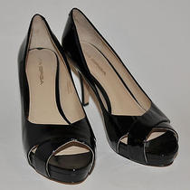 Best Buy  Bnwob via Spiga Nordstrom Black Patent Leather Heels/shoes 8m Photo