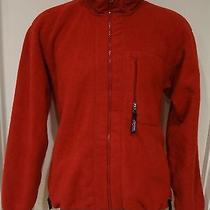 Best Buy  Patagonia Men Jacket Fleece Sz Xl Red  Retro  Polyester Excellent Photo