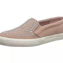 Betsey Johnson 89 Amira Studded Slip-on Sneaker Sport Flat Tennis Shoe Blush 10 Photo