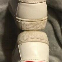 Betsey Johnson Bettie Lipsmack Kiss White Leather Sneakers Sz 9 Limited Edition Photo